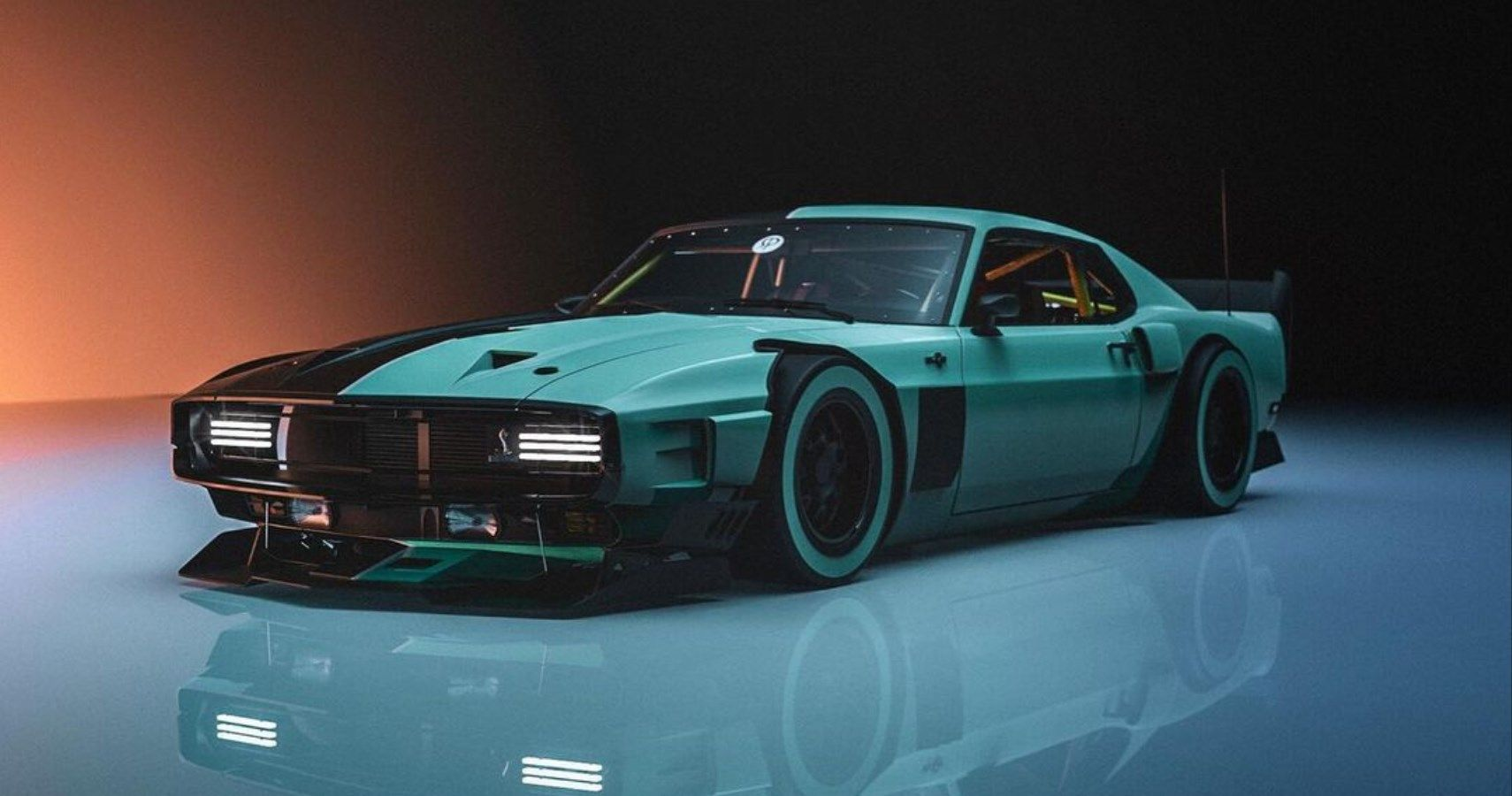 This Rad Shelby GT500 Rendering Is Hardly A Mustang Anymore
