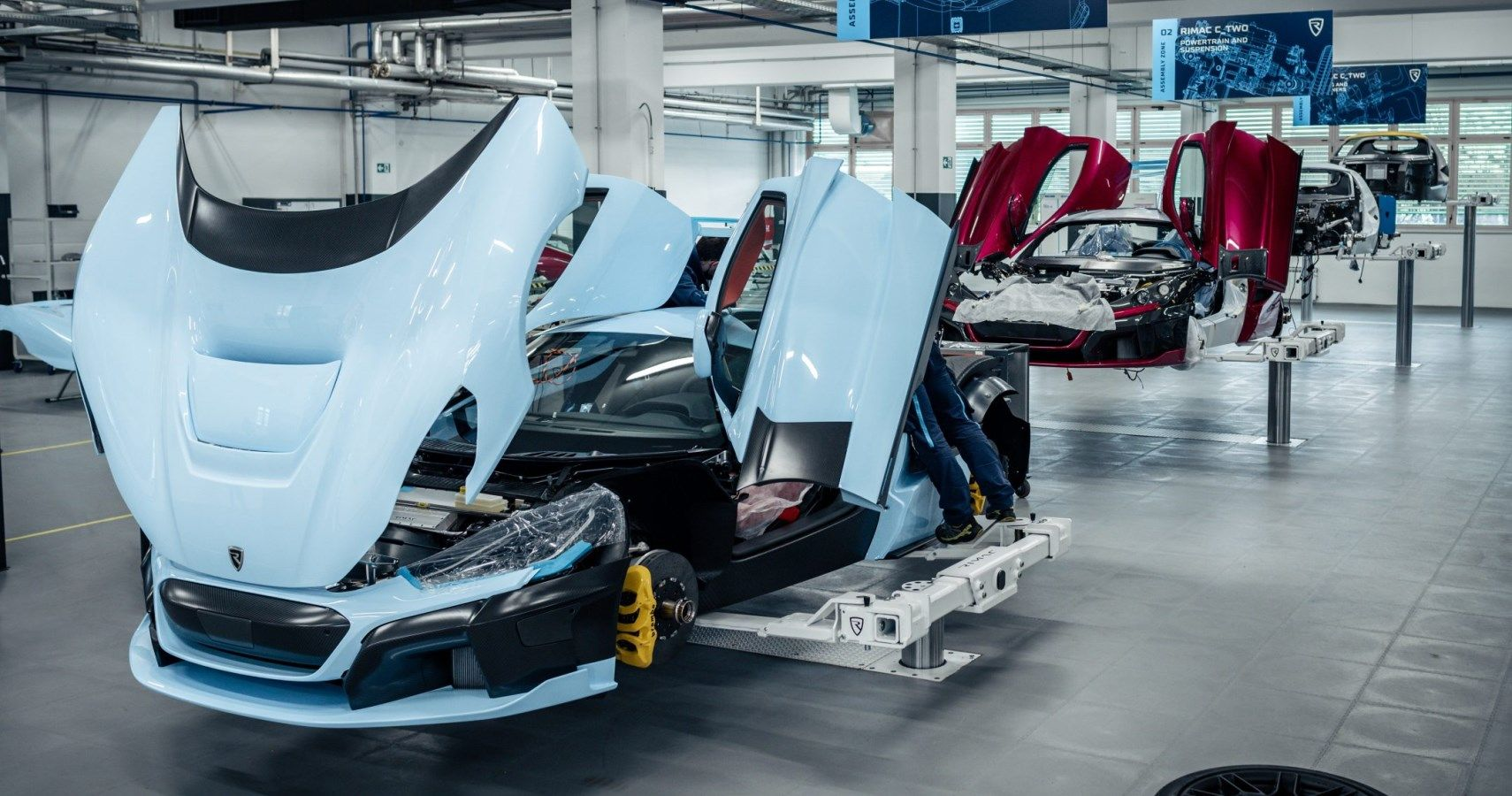 Rimac C_Two Edges Closer With Six Pre-Series Cars In Production