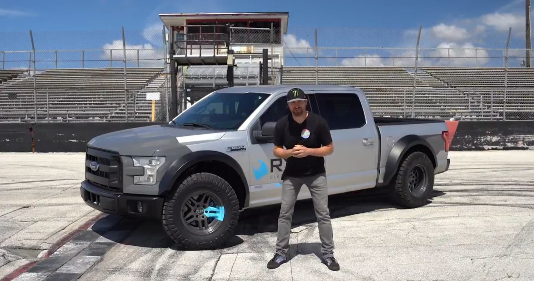 Learn How To Win Vaughn Gittin Jr.'s Heavily Modified F-150
