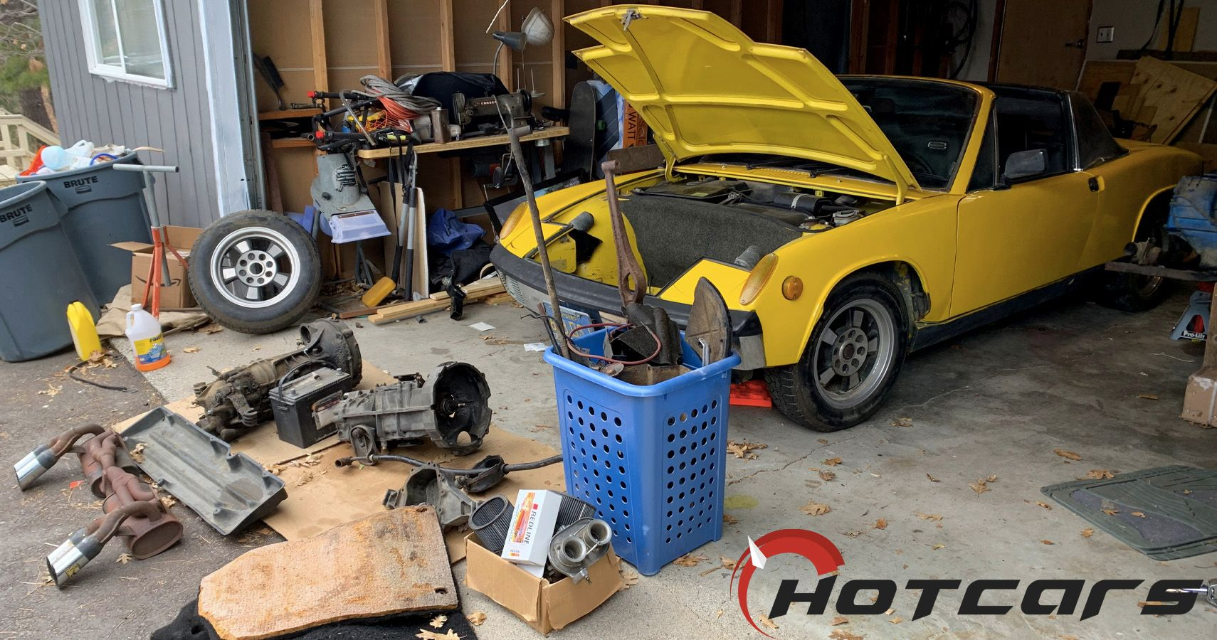 How I Ended Up Buying A 1971 Porsche 914 And A Pile Of Parts