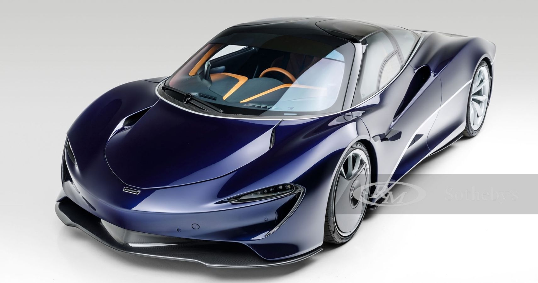 RM Sotheby's Listing Stunning 2020 McLaren Speedtail