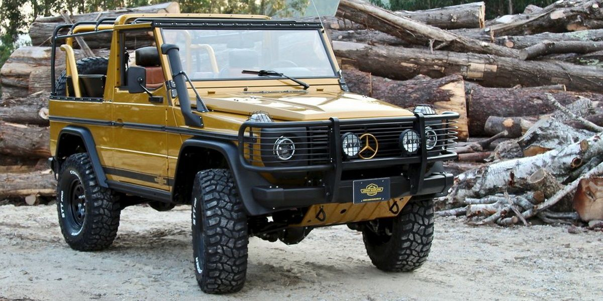 10 Coolest Off-Roaders That Aren't A Jeep | HotCars