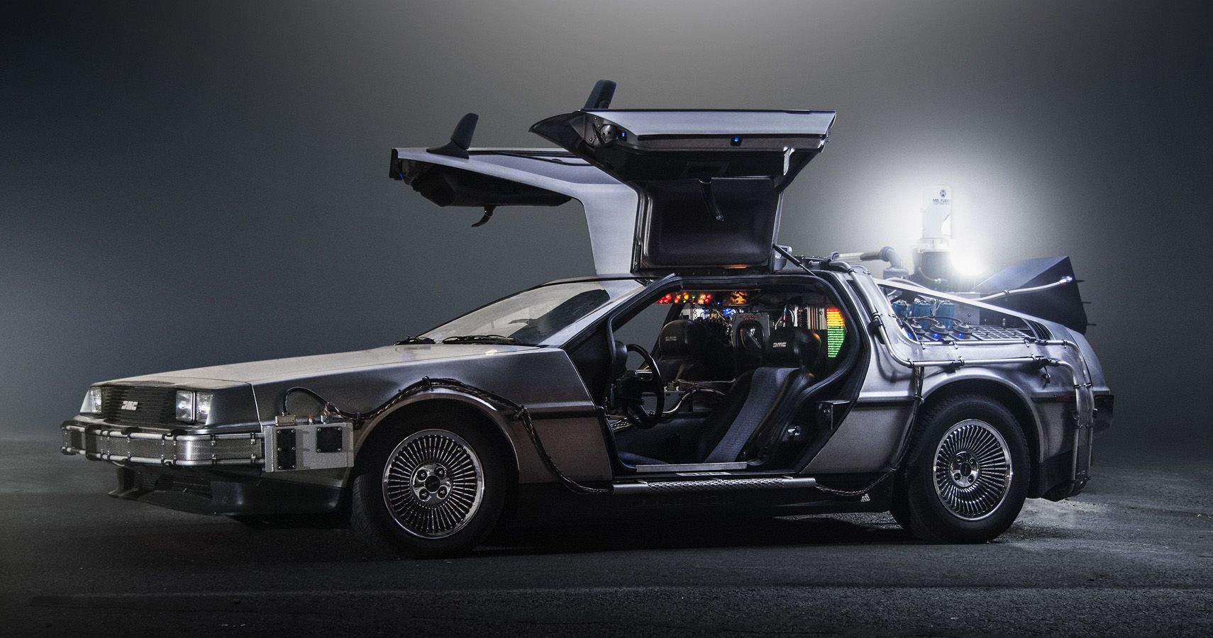 Here's How Much The DeLorean From Back To The Future Is Worth