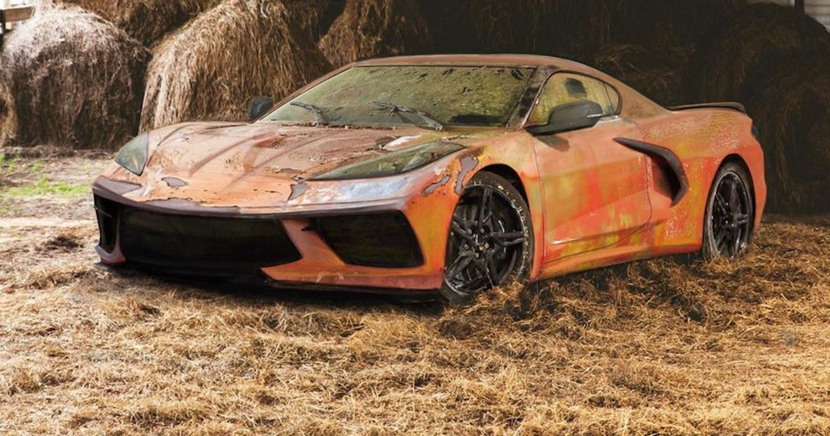 Here's What Chevrolet Corvette C8 Barn Finds Will Look Like To Future Gearheads