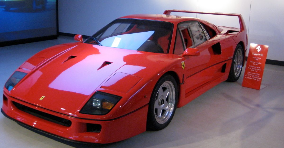 This Is How Much A Ferrari F40 Is Worth Today | HotCars