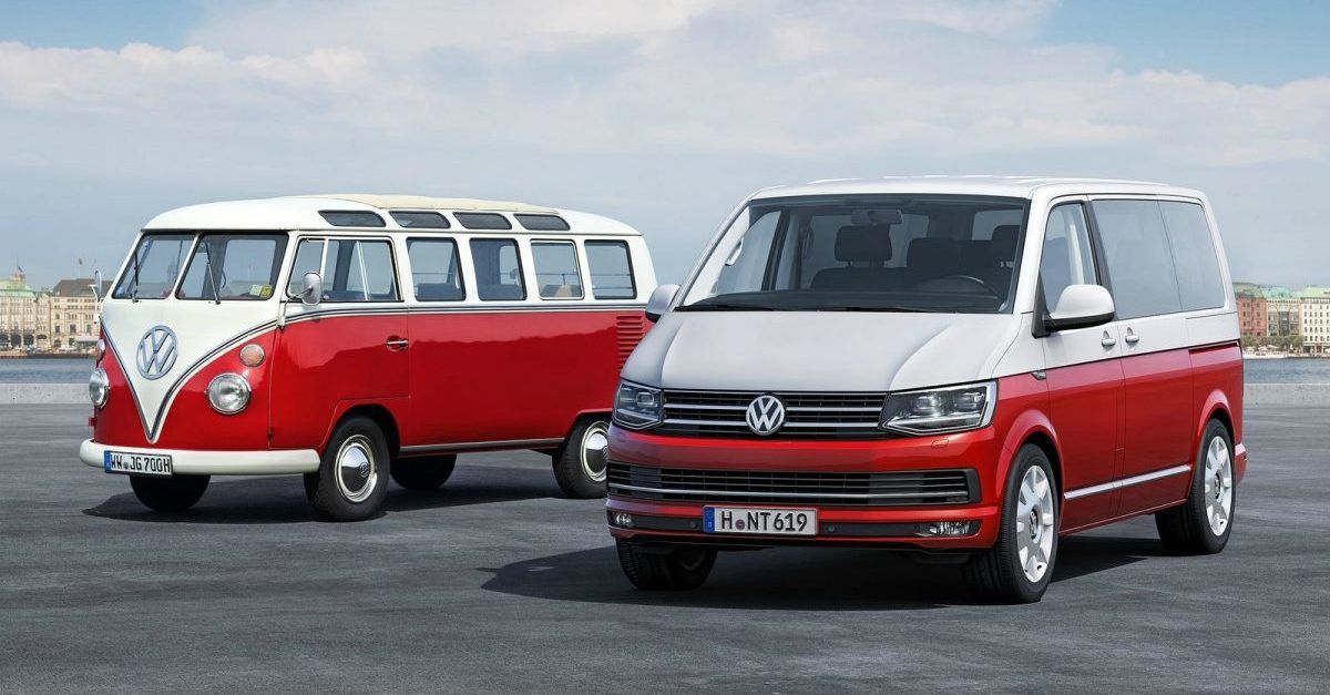 This Is The Evolution Of The VW Camper Van | HotCars
