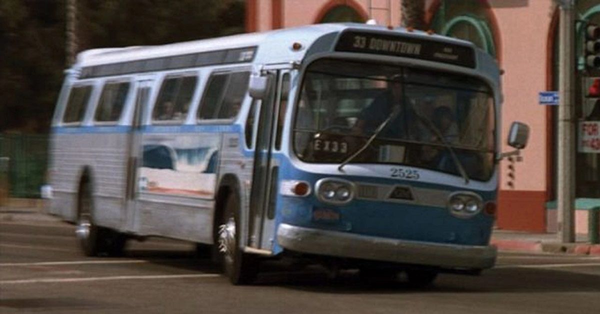 A Detailed Look At The Bus From Speed   HotCars