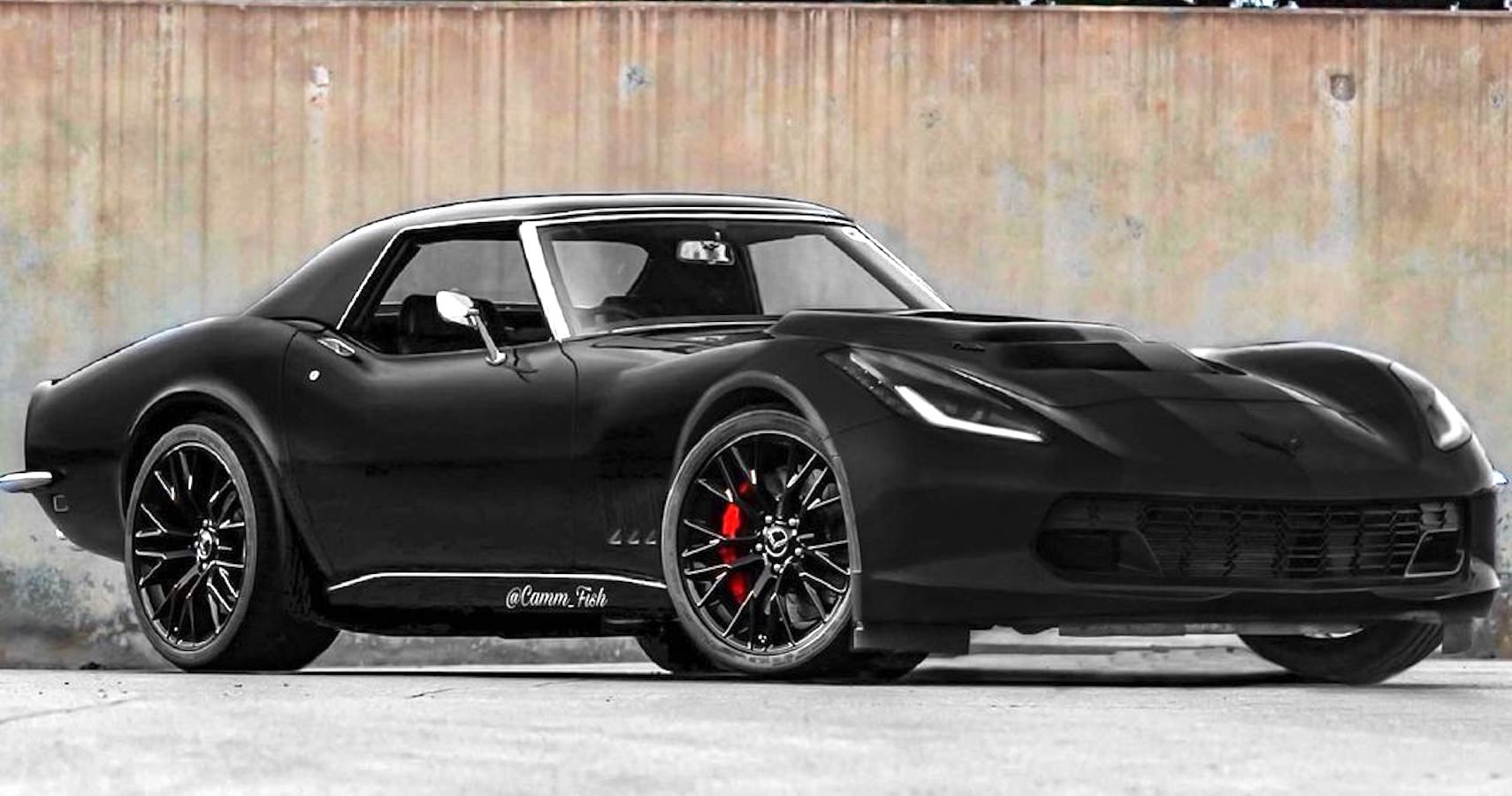 Check Out This C3 Chevy Corvette Wearing A C7's Face | HotCars