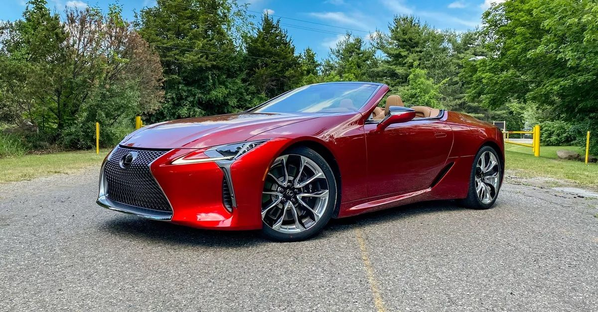 This Is What Makes The Lexus LC 500 Worth Over $100K | HotCars