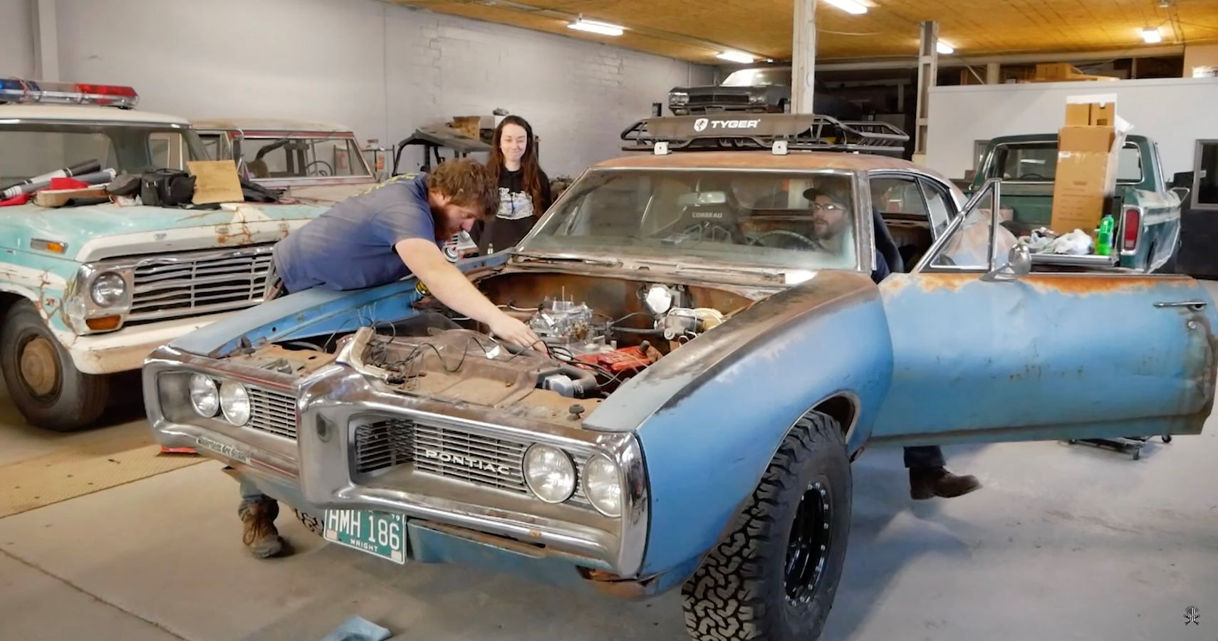 Witness This Abandoned 1968 Pontiac LeMans Brought Back To Life After 35 Years
