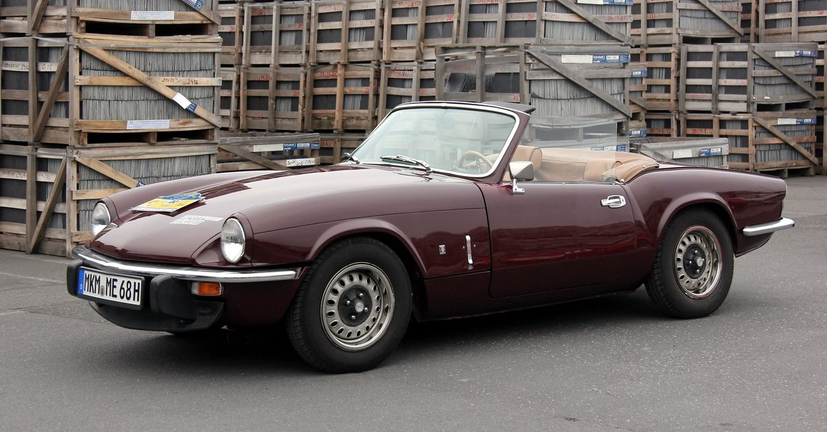 Here's How Much A Classic Triumph Spitfire Is Worth Today