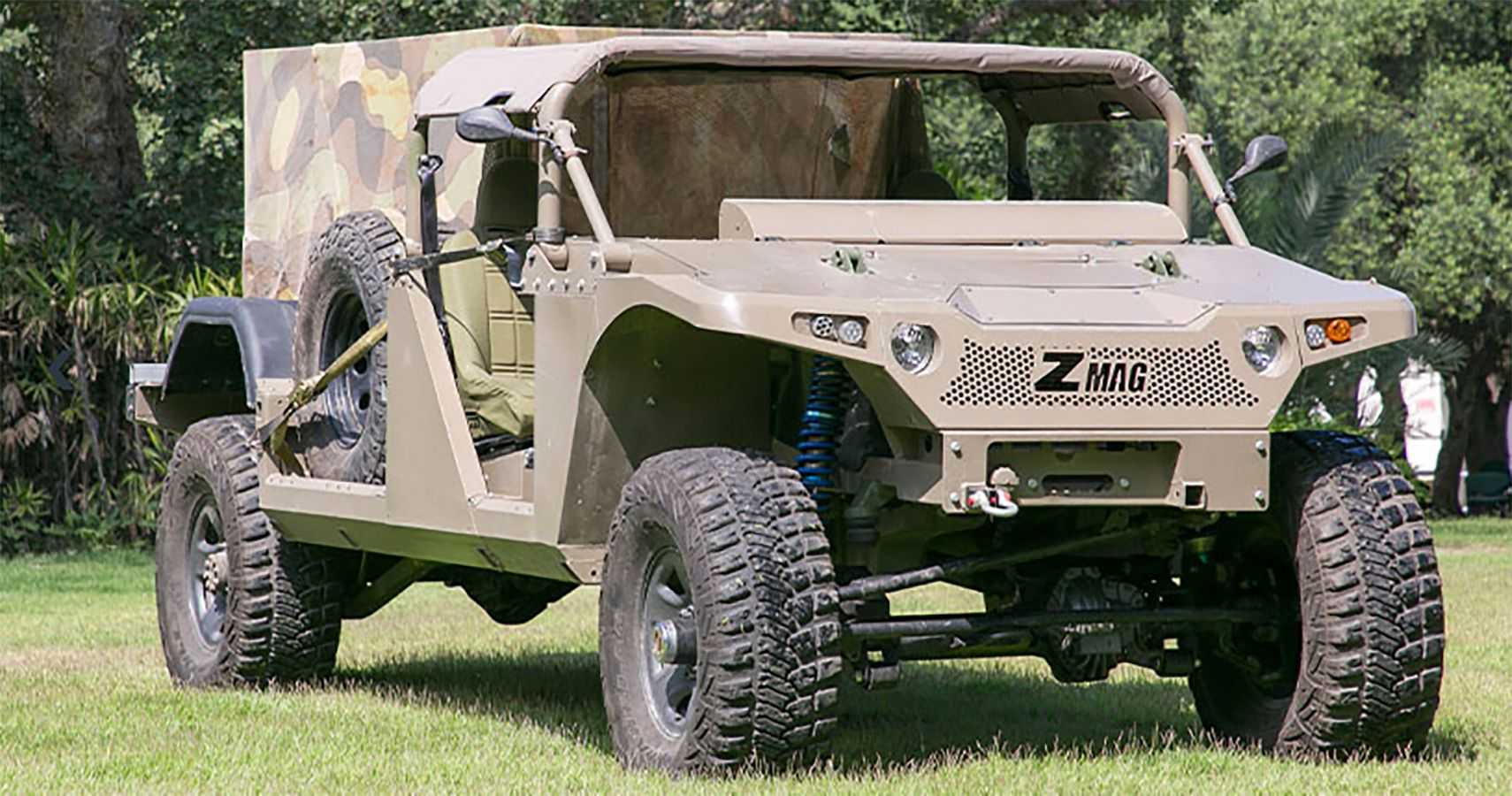 Versatile ZMAG All-Terrain Vehicles Ordered By Israel | HotCars