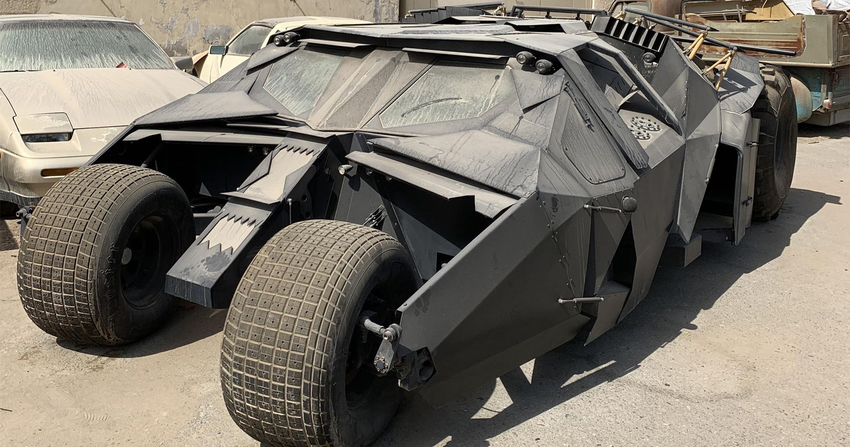 Near-Abandoned Batmobile From Christopher Nolan's Trilogy Found In Dubai