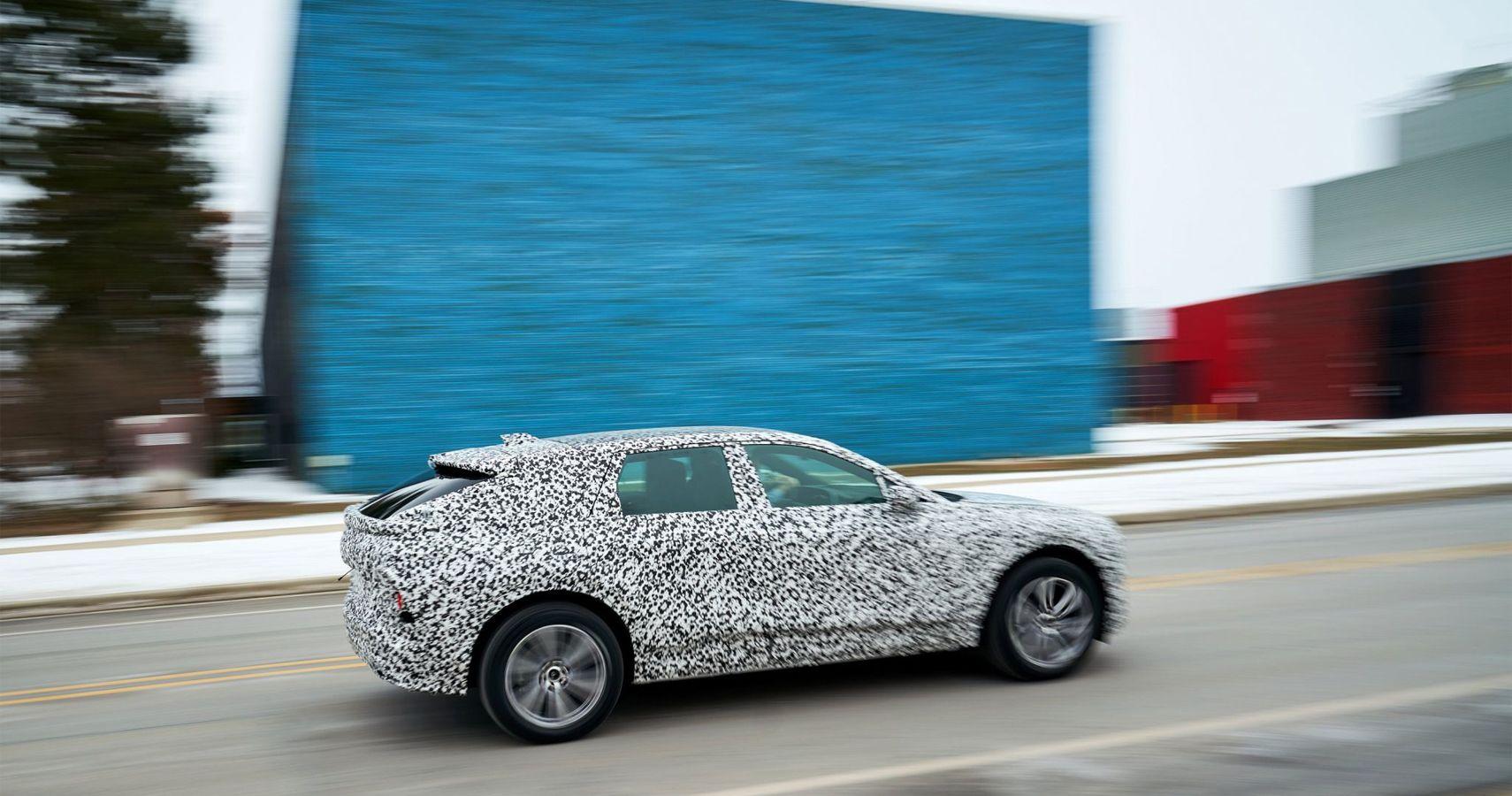 Seen But Not Heard: Cadillac Lyriq EV Spotted Road Testing