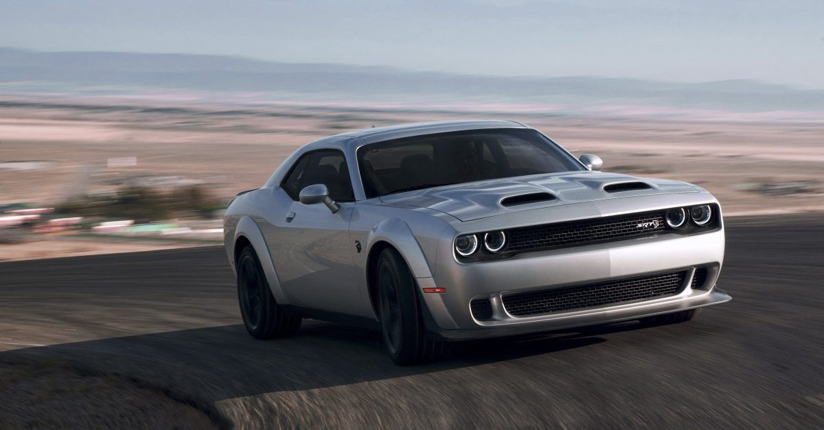Here's What Everyone Forgot About The Dodge Challenger Hellcat
