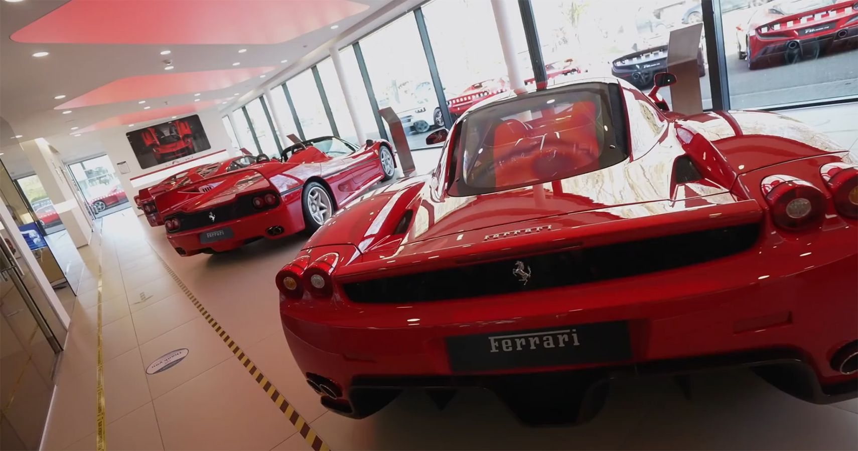 Witness Five Rare Ferraris Collectively Worth $15.3 Million Under The Same Roof