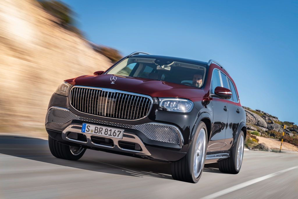 The Mercedes-Benz Maybach GLS 600 Is A Hyper Luxury SUV