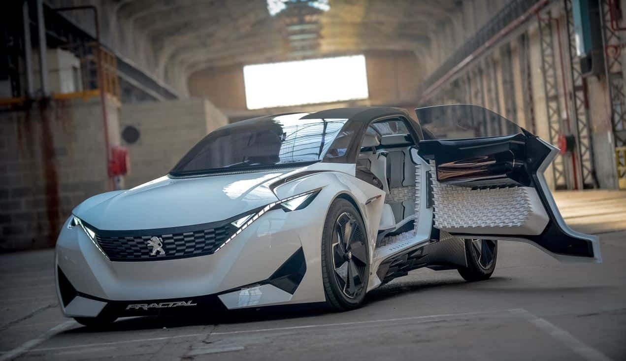 Here's A Detailed Look Back At The Peugeot Fractal Concept