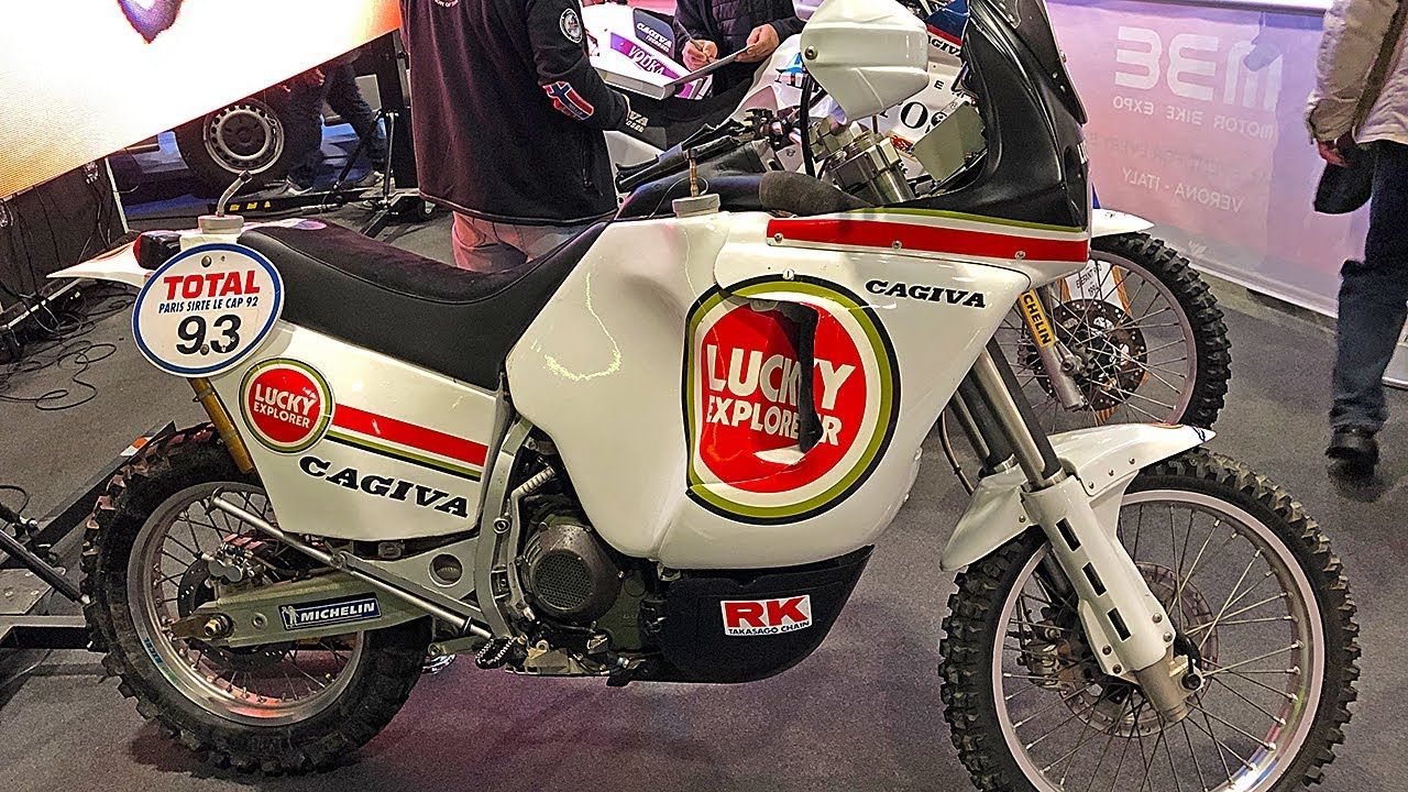 A Detailed Look Back At The Cagiva Elefant