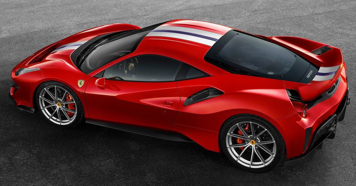 Here's Everything We Know So Far About The 2022 Ferrari 488 Pista
