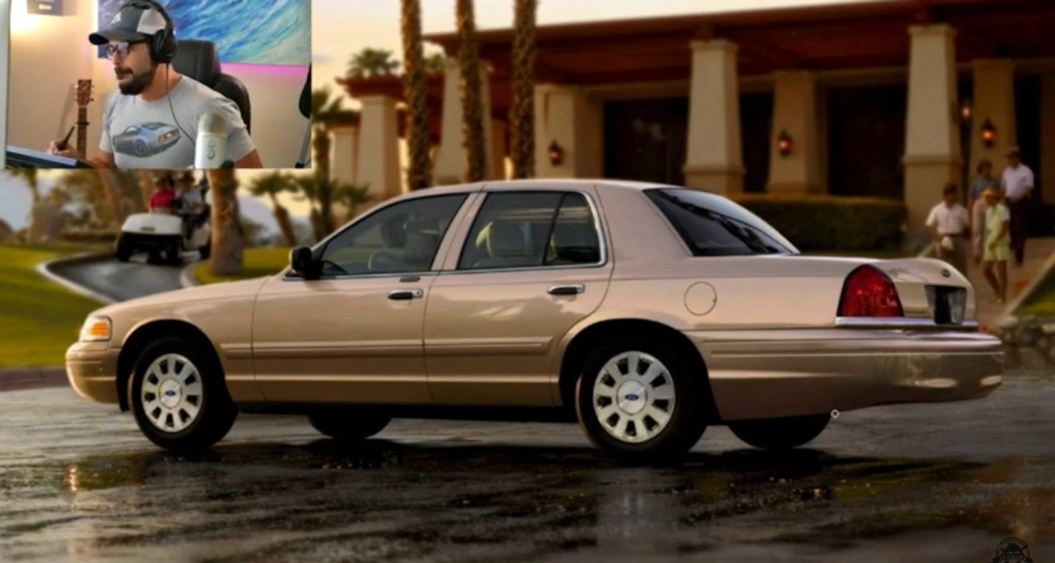Ford Crown Vic Enters Modern Times With Classy Rendering