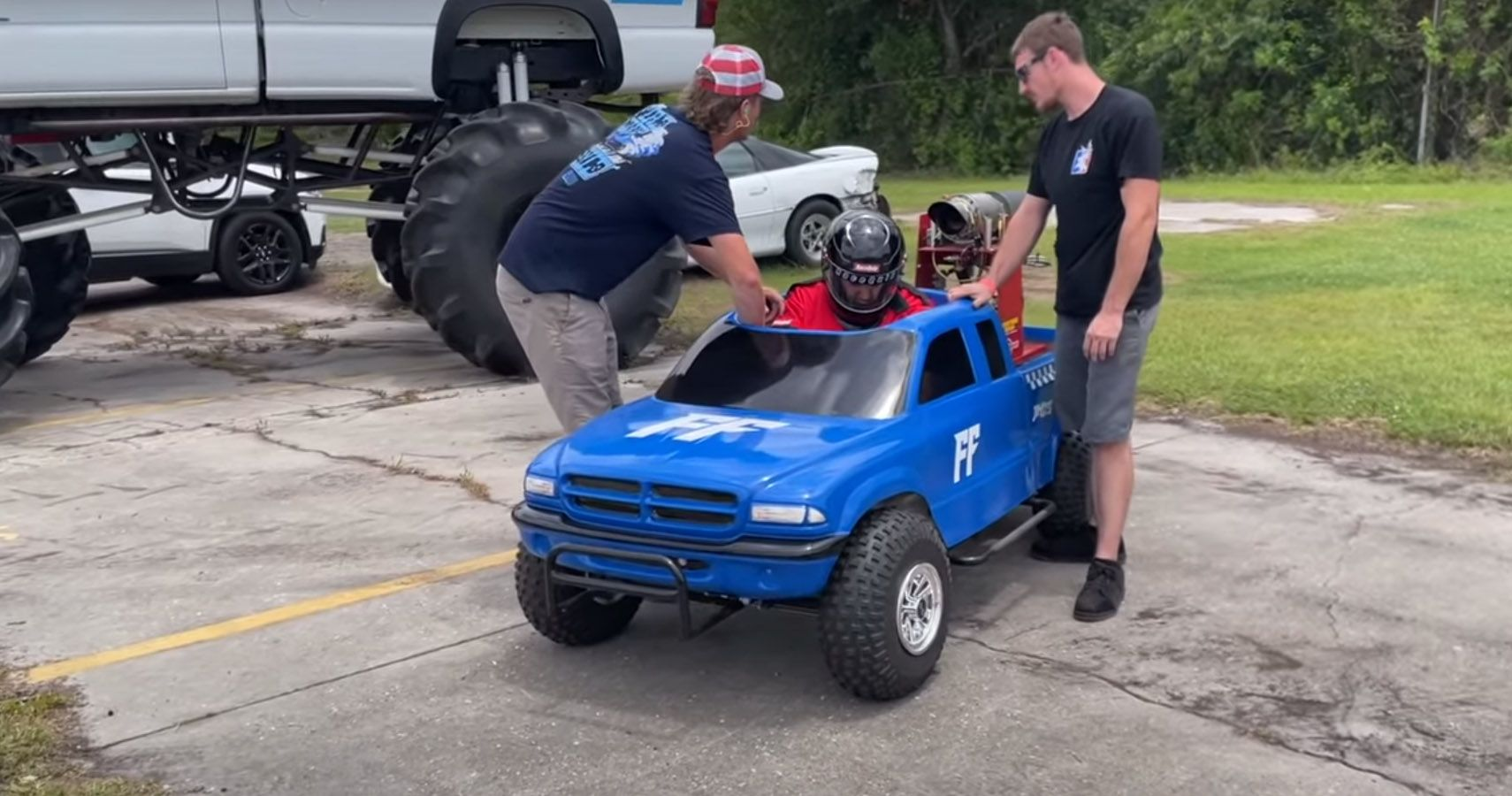 Jet-Powered Mini Truck Is Super Cool And Hilarious   HotCars