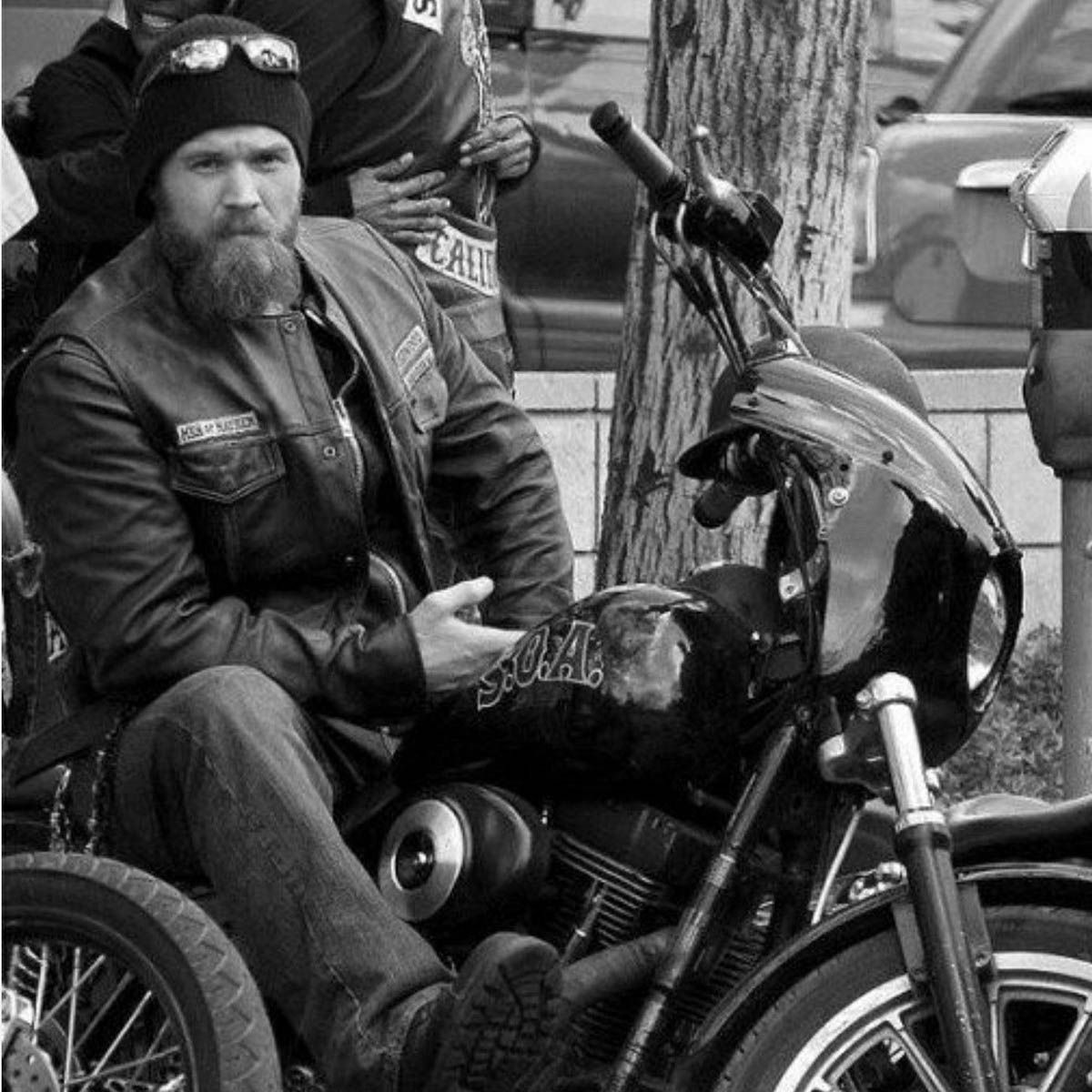 Check Out This Incredible Harley Davidson Donated To Charity By Ryan Hurst