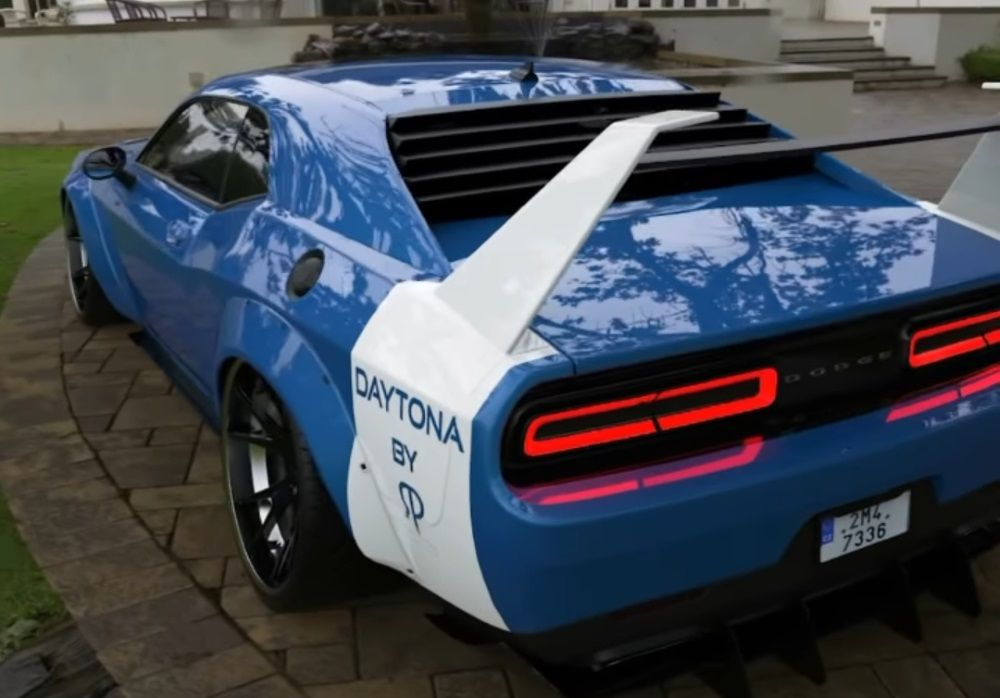 Modern Hellcat-Swapped Dodge Charger Daytona Is An American Daydream