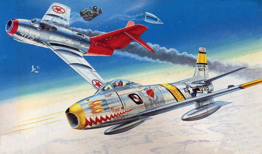 These Are The Only Cold War Planes That Could Tussle With The Mig-15