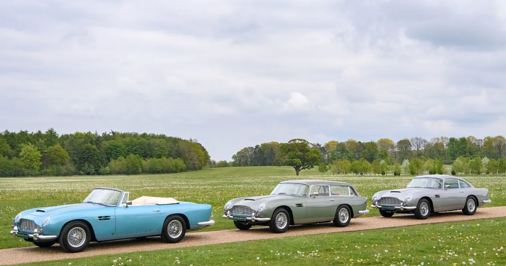 Even James Bond Couldn't Afford To Bid On These Rare Aston Martins