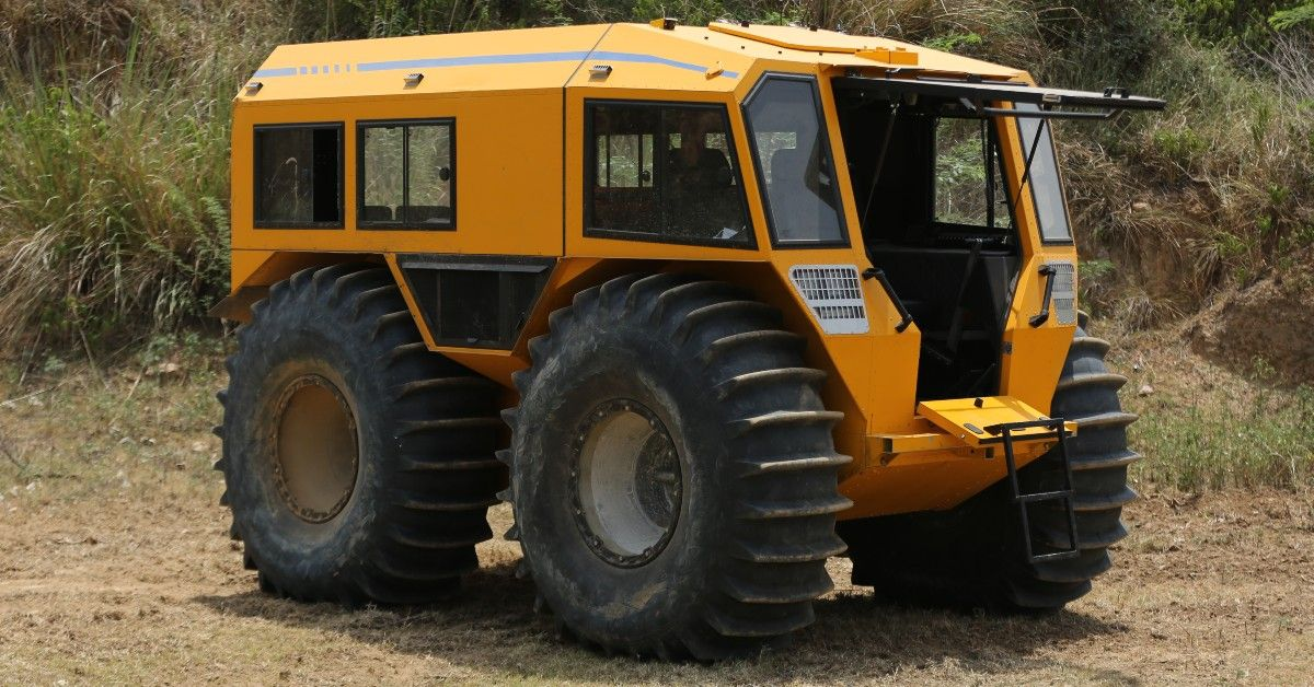 SHERP N 1200 Review: The Greatest All-Terrain Vehicle On The Planet