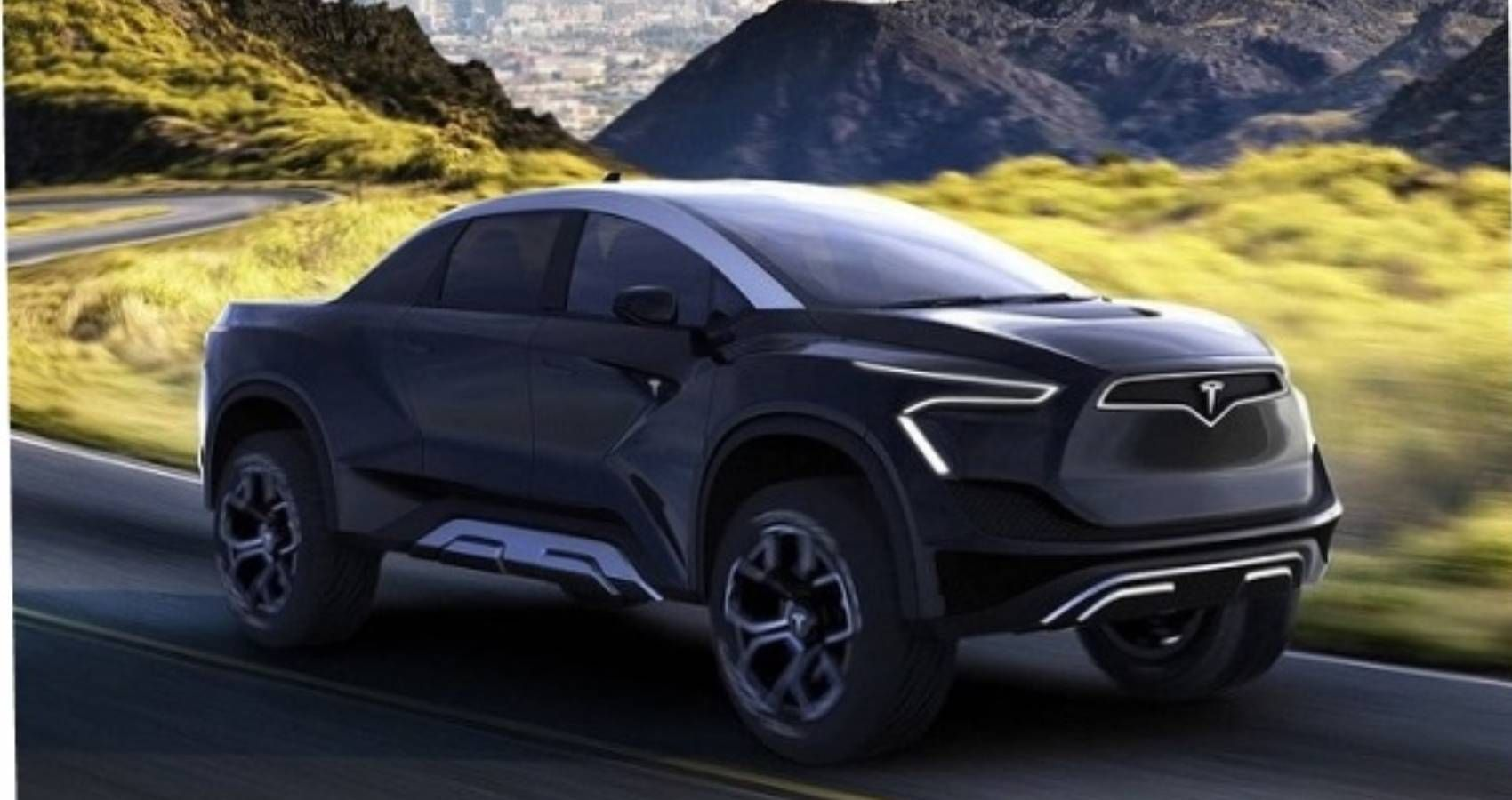 This Was A Vision For Tesla's Electric Pickup Before The Cybertruck Arrived