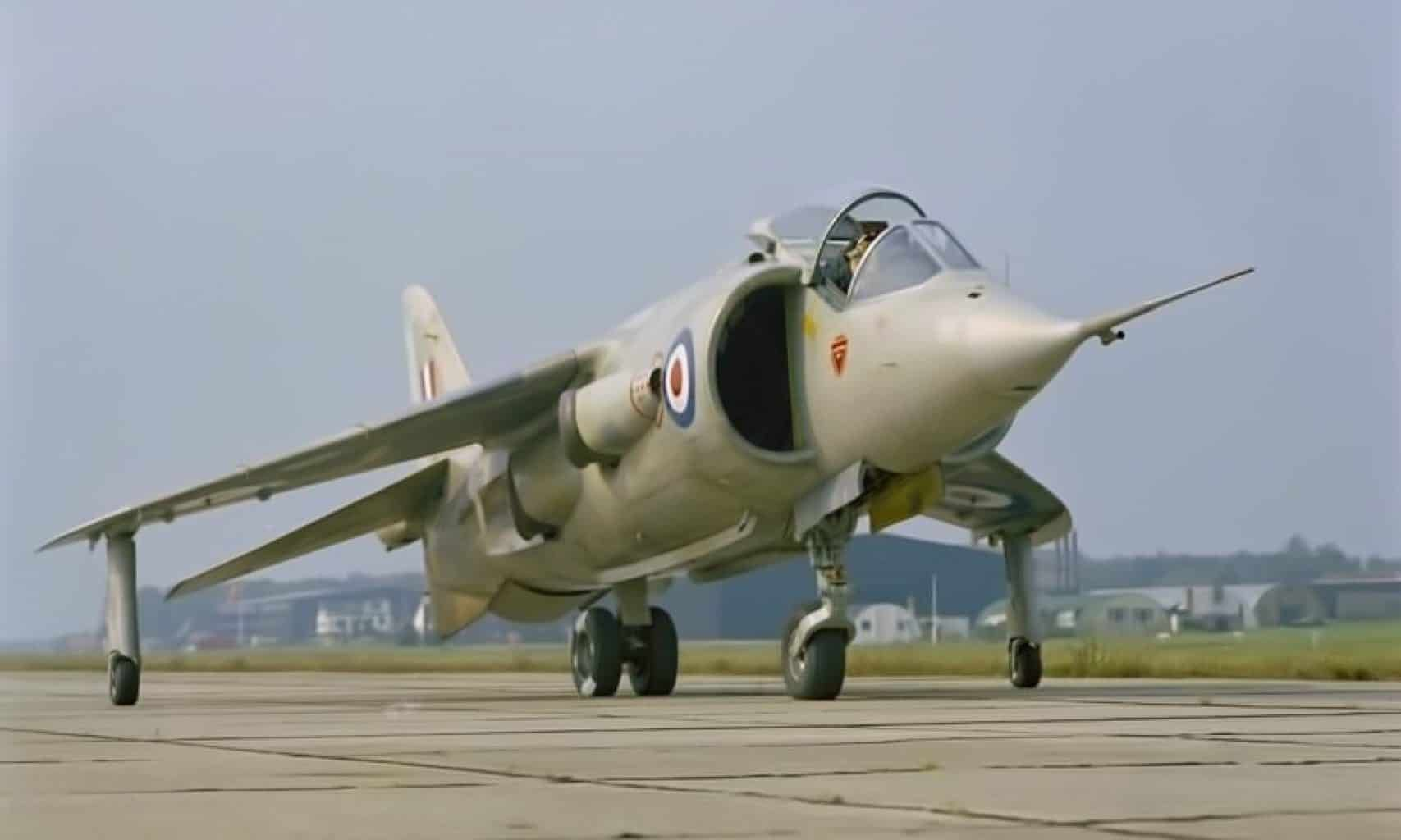The P.1154: The Supersonic Harrier That Never Was