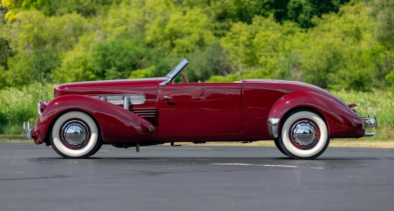 An Incredibly Rare Convertible Cord 812 Will Be Up For Auction