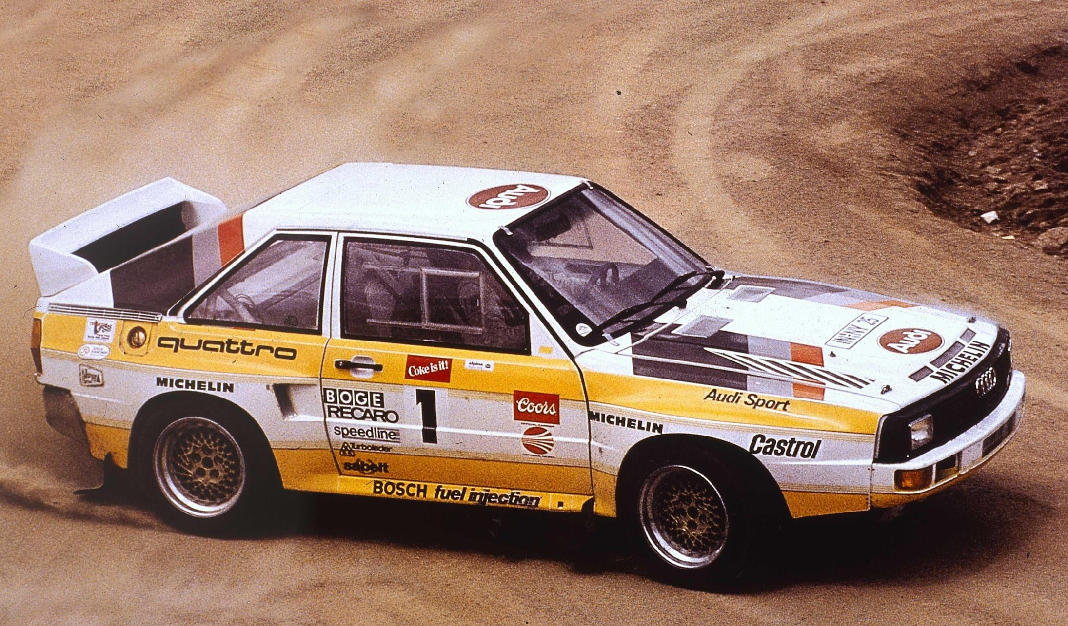 These Were The Most Insane Group B Rally Cars