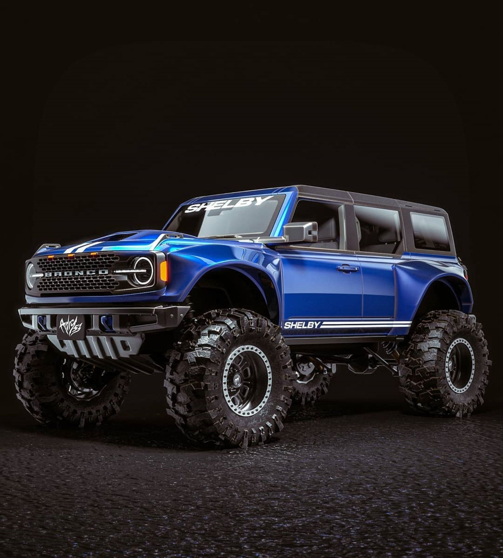 Ford Should Totally Make These Shelby Broncos