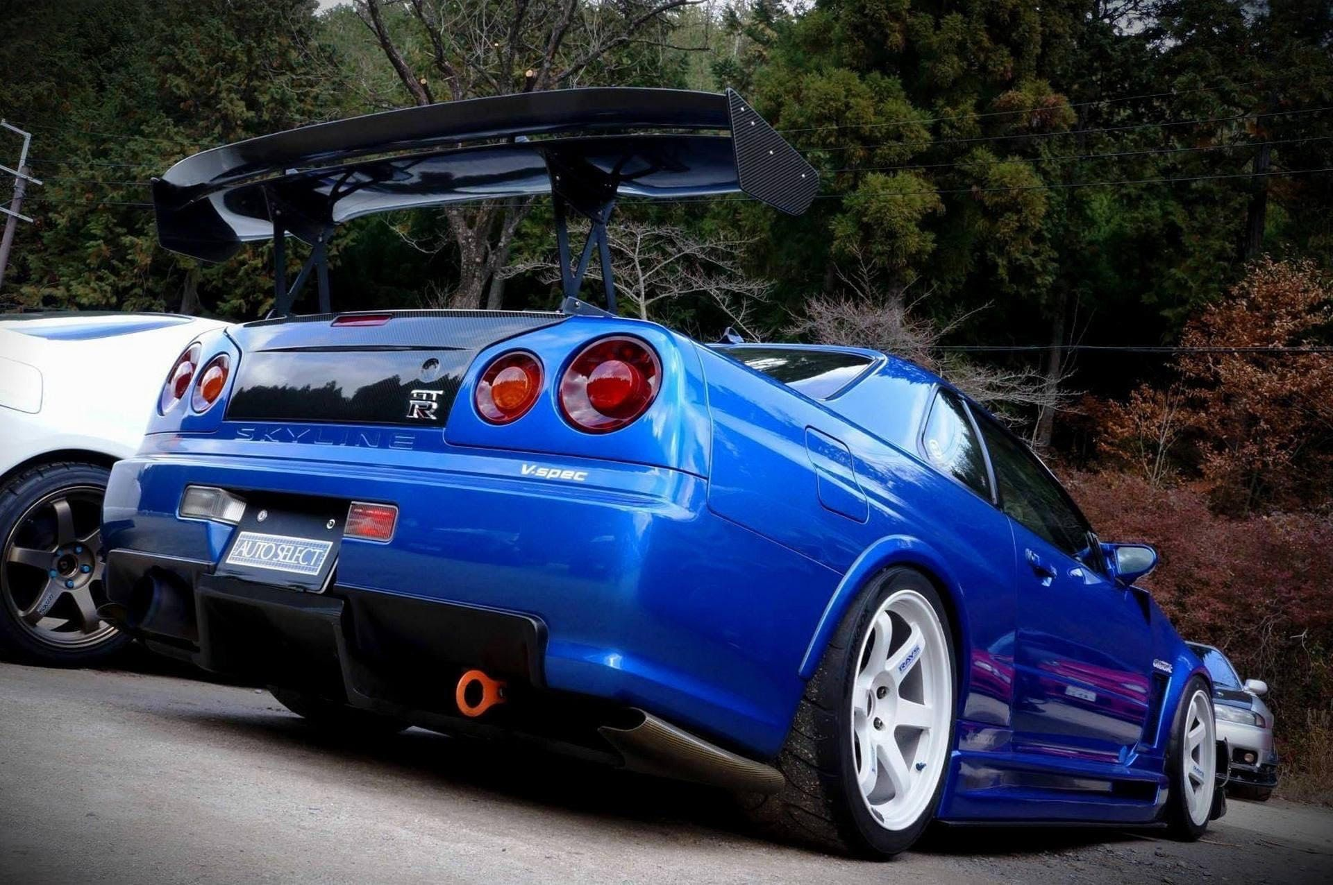 Here's What The 1999 Nissan Skyline GTR R34 Costs Today