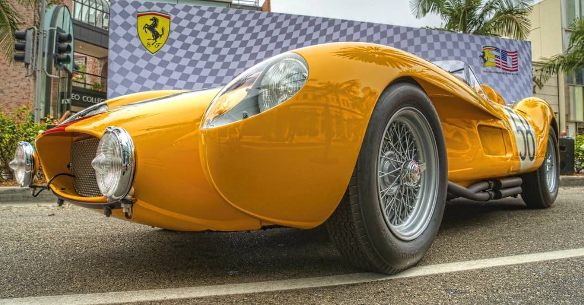 Here's What We Love About The 1958 Ferrari 250 Testa Rossa