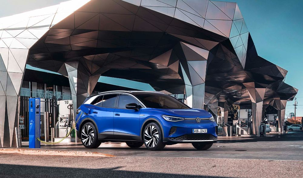 The Volkswagen ID.4 Is One Of The Best Electric Vehicles Of 2021